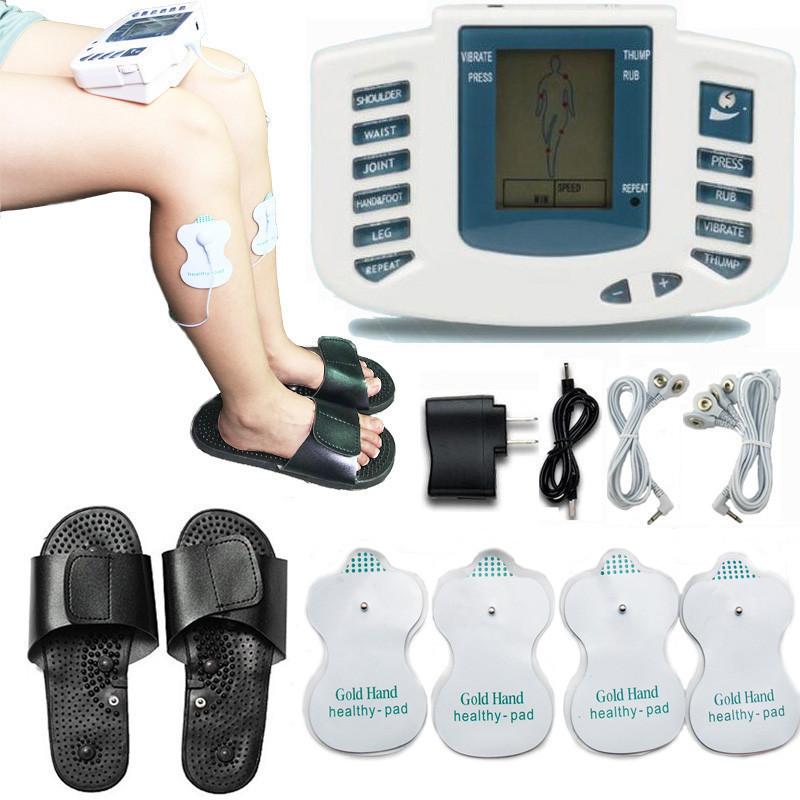 Тапочки массажные Digital slipper JR-309A, Электронные Тапочки Массажные Шлёпанцы, Массажер для ног импульсный