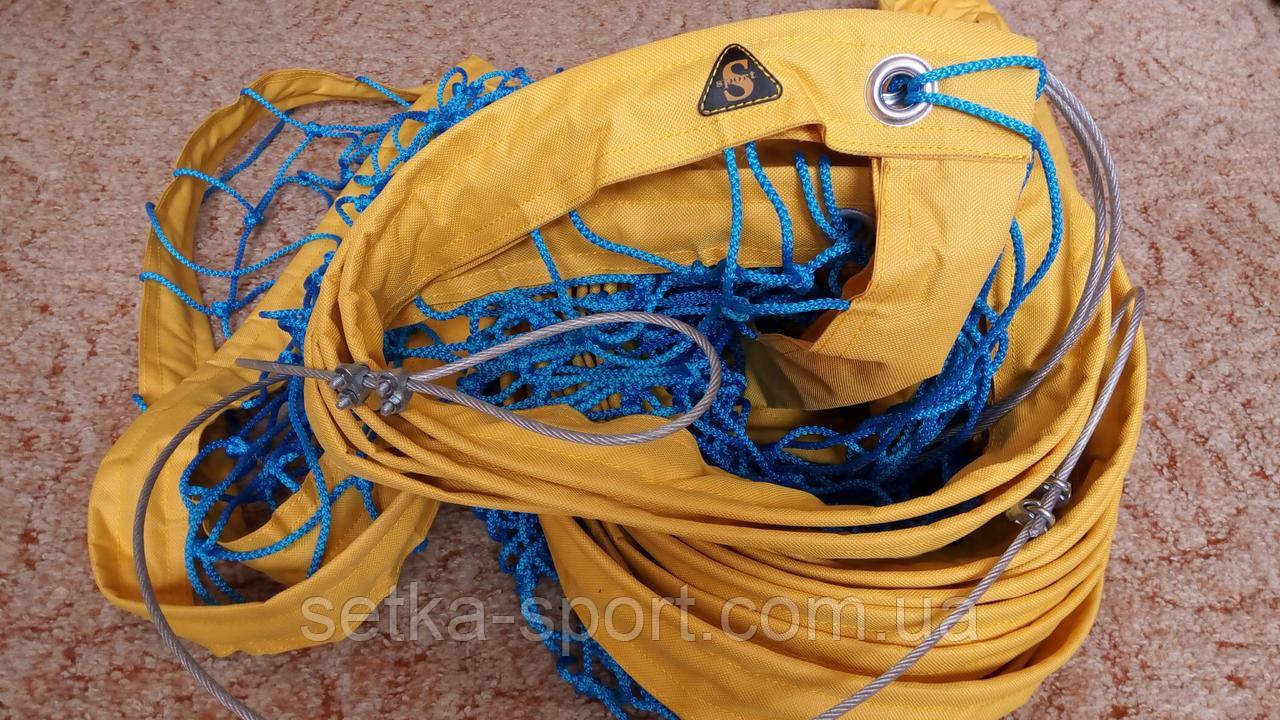 """Профессиональная Волейбольная сетка """"PROFFI"""" - с тросом! Ø шнура - 3,5 мм. Цена - качество!"""