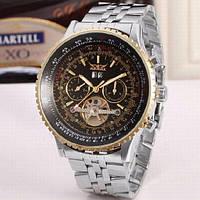 Мужские механические часы стальной браслет Jaragar Luxury