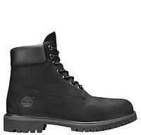 Ботинки Timberland 6 Inch Premium Black БЕЗ меха