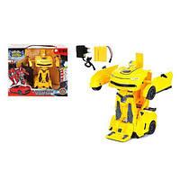 """Машинка-трансформер Maya Toys """"Крутая тачка"""" желтая (JT297-1)"""