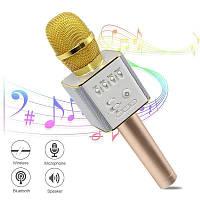 Микрофон DM Karaoke Q9, Беспроводной микрофон караоке bluetooth, Вокальный микрофон, Микрофон динамик, фото 1