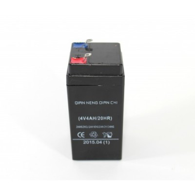 Аккумулятор BATTERY 4V 400g, Блок питания, Аккумуляторная батарея для фонарей, весов, сигнализации, ИБП
