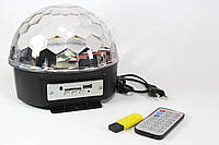 Диско-шар MusikBall MP-3 E27-997BT, Светомузыка диско шар, Светодиодный диско-шар с динамиками,Дискошар блютуз