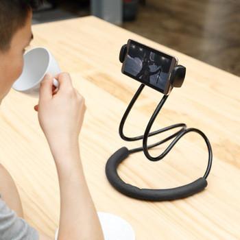 Держатель HOLDER WAIST LR 002, Держатель на шею для мобильного телефона, Подставка для видеосвязи