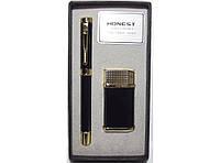 PN5100, Подарочный набор зажигалка + ручка,Подарок для мужчины, Подарок зажмгалка и ручка