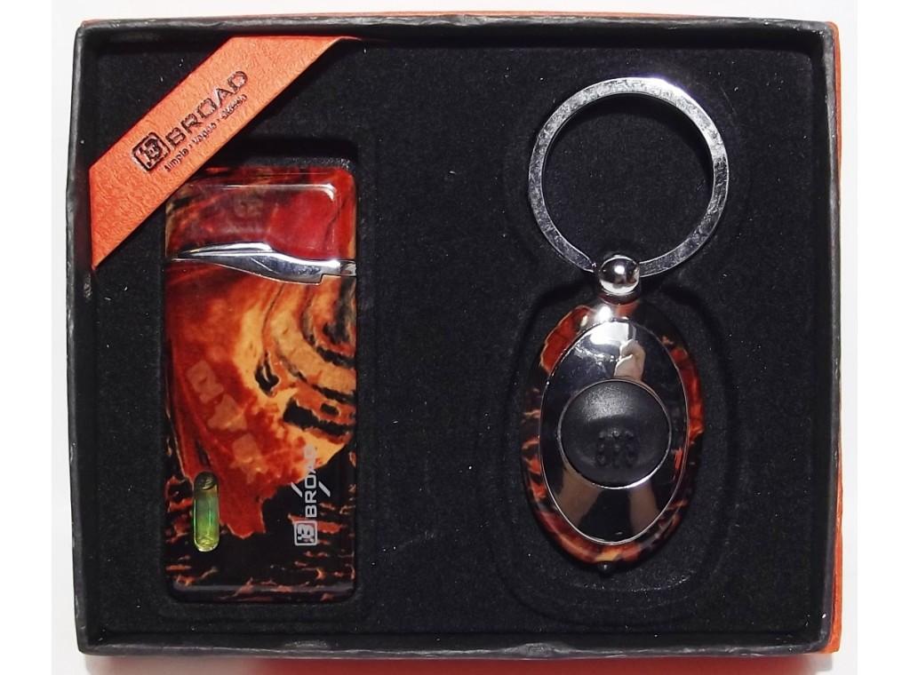 PN3-81,Подарочный набор зажигалка + фонарик, мужской подарочный набор, зажигалка +фонарик