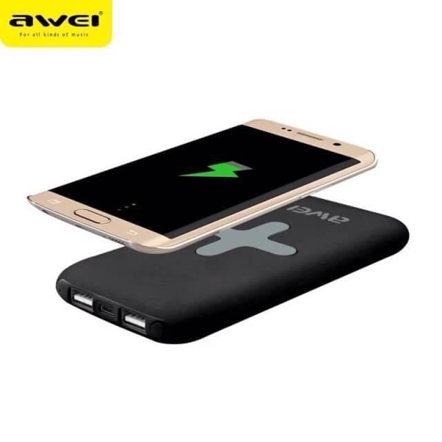 Мобильная Зарядка POWER BANK P98K WIRELESS AWEI, Беспроводная зарядка, Дополнительная внешняя батарея