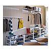 """IKEA """"ЧУСИГ"""" Полка для обуви, белый"""