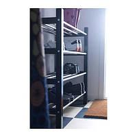 """IKEA """"ЧУСИГ"""" Полка для обуви, черный"""