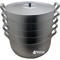 Мантоварка-пароварка манты-казан (13 литров  4 диска)  «Демидов»