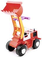 Детский трактор Бульдозер погрузчик Орион (313), фото 1