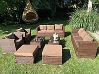 Елегантный комплект мебели из ротанга Borneo XXL!, фото 1