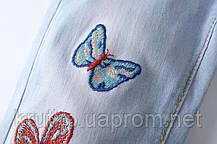Джинсы для девочки Бабочки Star Place, фото 3