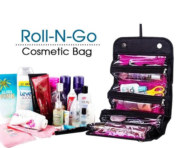 Органайзер Roll n Go, Органайзер для косметики, Органайзер для хранения косметики, Сумка органайзер