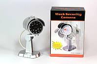 Муляж камеры CAMERA DUMMY  PT-1900, Муляж охранной камеры, Камера видеонаблюдения обманка, Имитация камеры, фото 1