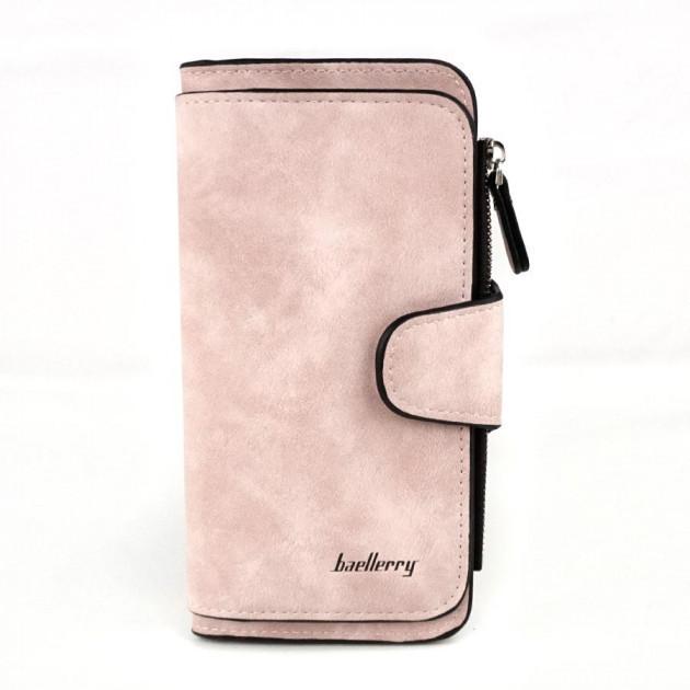 Кошелек Baellerry N2345 портмоне женское, Клатч для девушки, Клатч-кошелёк женский, Женский замшевый клатч