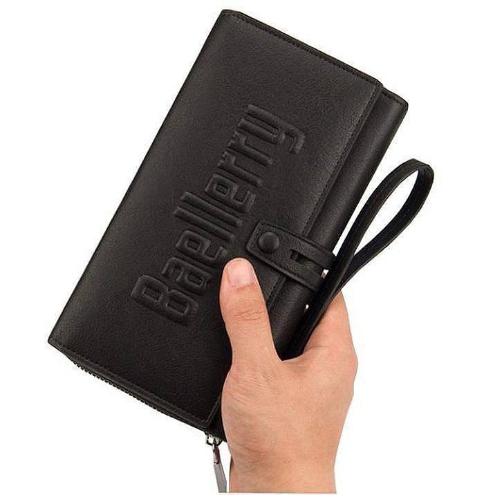 Мужской кошелёк / портмоне Baellerry S1393, Кошелек-клатч мужской. Мужское портмоне вместительное, Бумажник