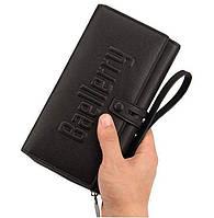 Мужской кошелёк / портмоне Baellerry S1393, Кошелек-клатч мужской. Мужское портмоне вместительное, Бумажник, фото 1
