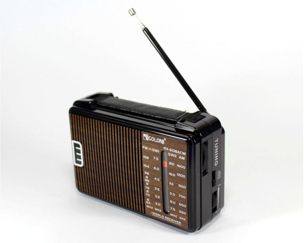 Радио RX 608, Простой FM-радиоприемник, Аудиоприемник, Приемник, Всеволновой радиоприёмник, Радиоколонка