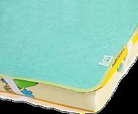 Непромокаемый наматрасник - поверхность «Непромокайка Classic ЭКО ПУПС», 60х120, Зеленый, фото 1