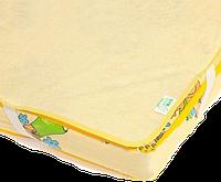 Непромокаемый наматрасник - поверхность «Непромокайка Classic ЭКО ПУПС», 60х120, Желтый