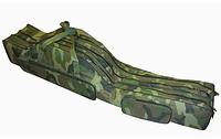 Чехол на три секции Kaida 1.5м, Чехол рыболовный для удочек, Чехол для спиннингов, Чехол для охоты, рыбалки