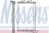 Радиатор двигателя DAF CF85 (1434917) Nissens, без аксессуаров