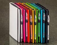 """Дизайнерские блокноты Ellas """"Black Rainbow"""" с черными листами"""