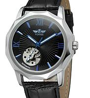 Мужские механические часы Winner Modern. Наручные часы с автоподзаводом