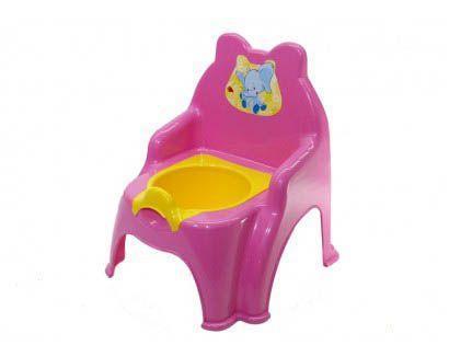 Детский горшок-стульчик детский (розовый)