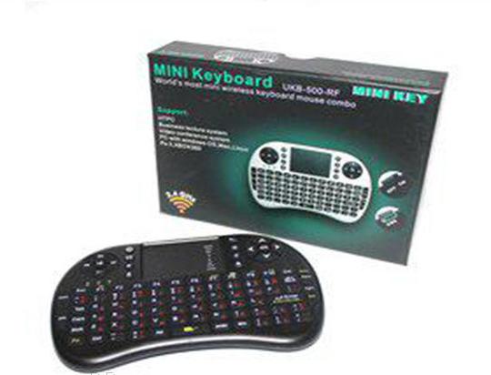 Клавиатура пульт KEYBOARD UKB 500, Беспроводная клавиатура с сенсорной панелью, Смарт сенсорная панель