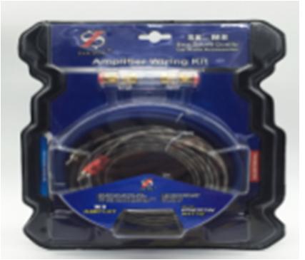 Набор кабелей 8055, Комплект проводов в машину для акустики, Кабели для подключения усилителей или сабвуферов