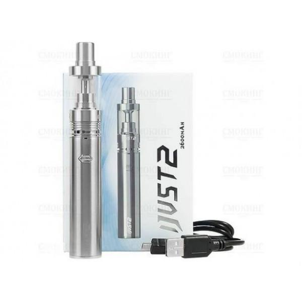 IJUST 2 серебро, Мод аккумуляторный, Акуммуляторная сигарета, Электронная сигарета, Вейп, Электронный паритель