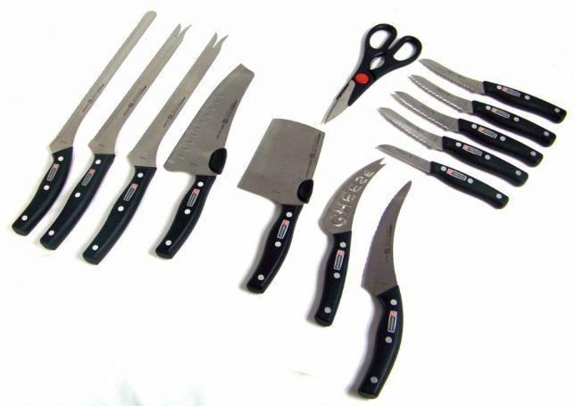 Набор ножей miracle bland 13 in 1, Набор кухонных ножей из нержавеющей стали, Острые ножи профессиональные