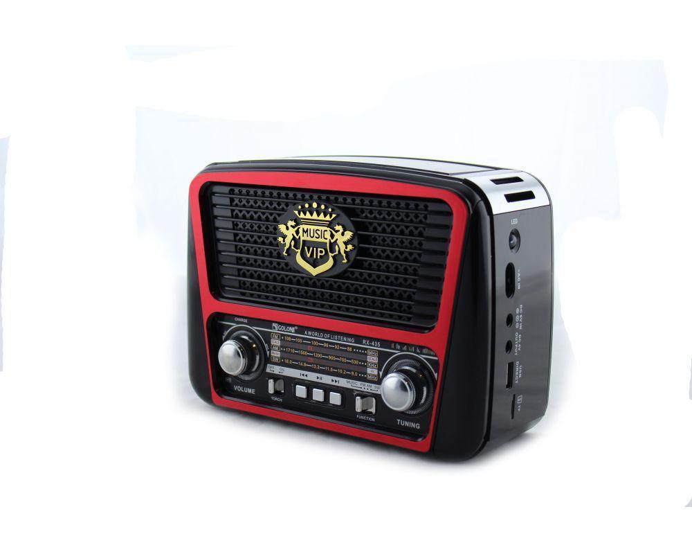 Радио RX 435, Переносное радио, Радиоприемник, Аккумуляторное радио, Портативное радио MP3