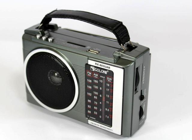 Радио RX 603, МР3, USB/SD радиоприемник, Колонка радио переносная, Радио на аккумуляторе, Музыкальная колонка
