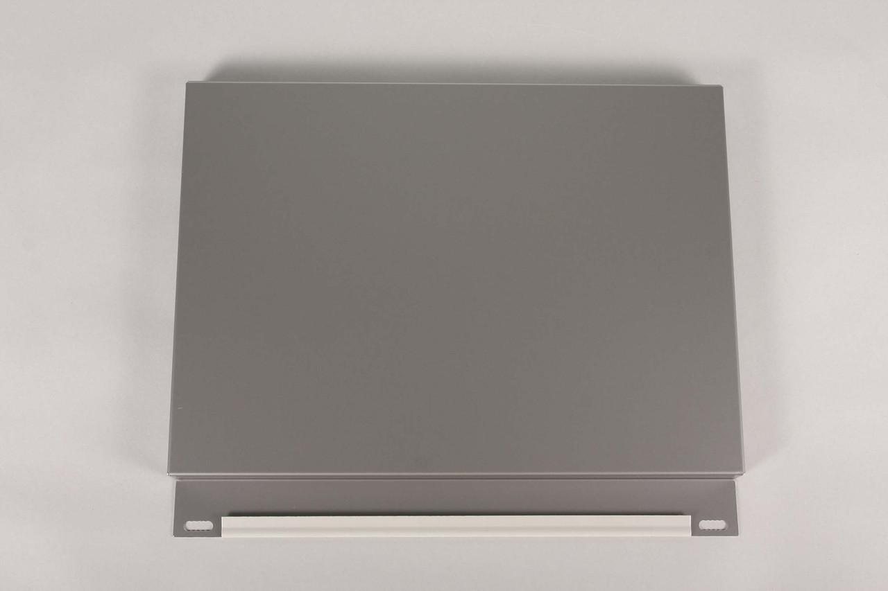 Фасадные кассеты закрытого  типа, тол. 0,7 мм