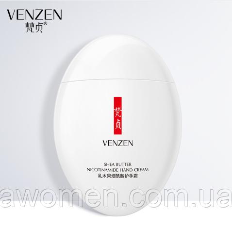 Омолаживающий крем для рук Venzen Nicotinamide Hand Cream 60 g ( авокадо, масло ши и никотинамид)