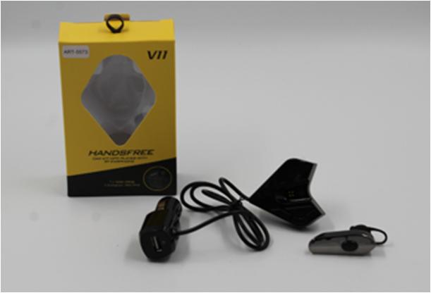 Трансмитер FM MOD. V11 BT +earphone bluetooth гарнитура, FM модулятор, Авто трансмиттер, ФМ трансмиттер