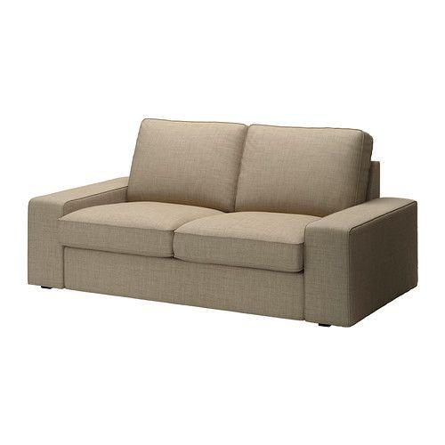 """IKEA """"КИВИК"""" диван двухместный, Исунда бежевый"""