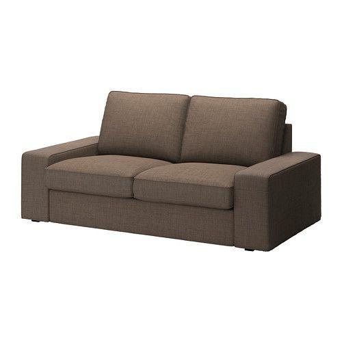 """IKEA """"КИВИК"""" диван двухместный, Исунда коричневый"""
