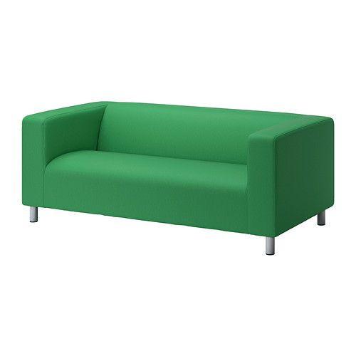 """IKEA """"КЛИППАН"""" диван двухместный, Висле зеленый"""