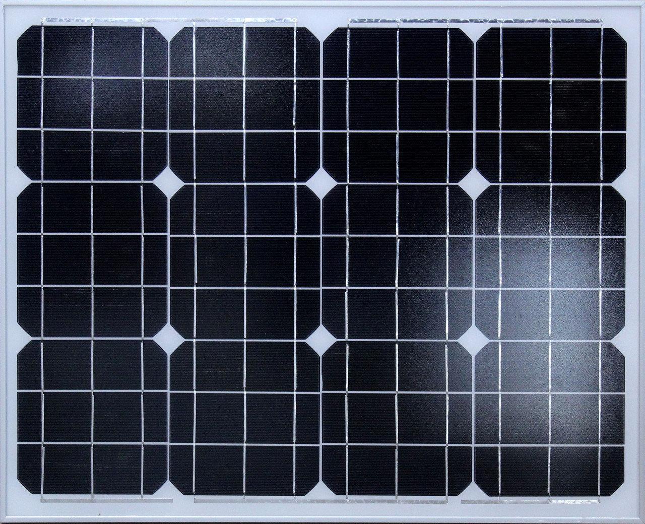 Solar board 50W 18V, Мини электростанция на солнечных батареях. Солнечная панель, Солнечная батарея