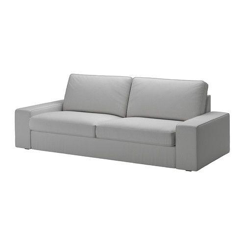 """IKEA """"КИВИК"""" диван трехместный, Оррста светло-серый"""