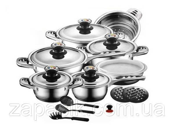 Набор Для Кухни Посуда Zurrichberg DELUXE ZBP 8012 Набор Посуды Кухонный 19 Предметов