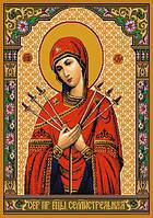 Ковер икона Матерь Божья Семистрельная