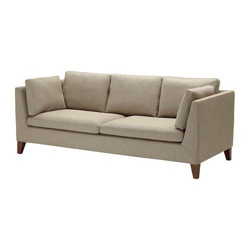 """IKEA """"СТОКГОЛЬМ""""  диван трехместный , Корндал темносерый"""