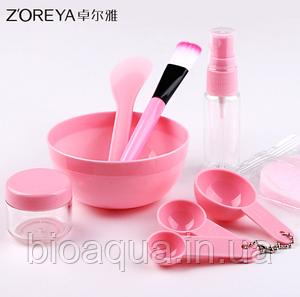 Набор Zoreya для приготовления масок (розовый)