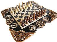 Шахматы,нарды,шашки,резные,ручная работа, фото 1